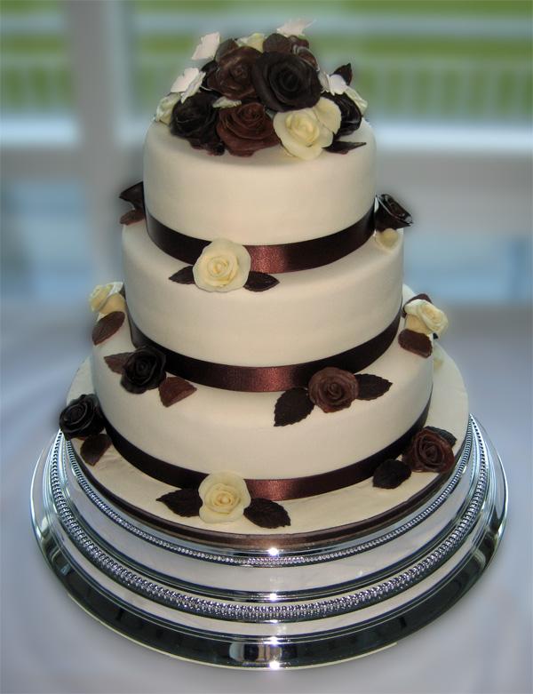 3 Tier Chocolate Birthday Cake