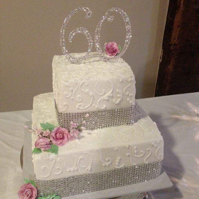 60th Wedding Anniversary Cake Ideas