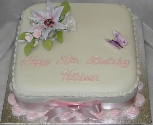 9 Adult Birthday Sheet Cakes Photo