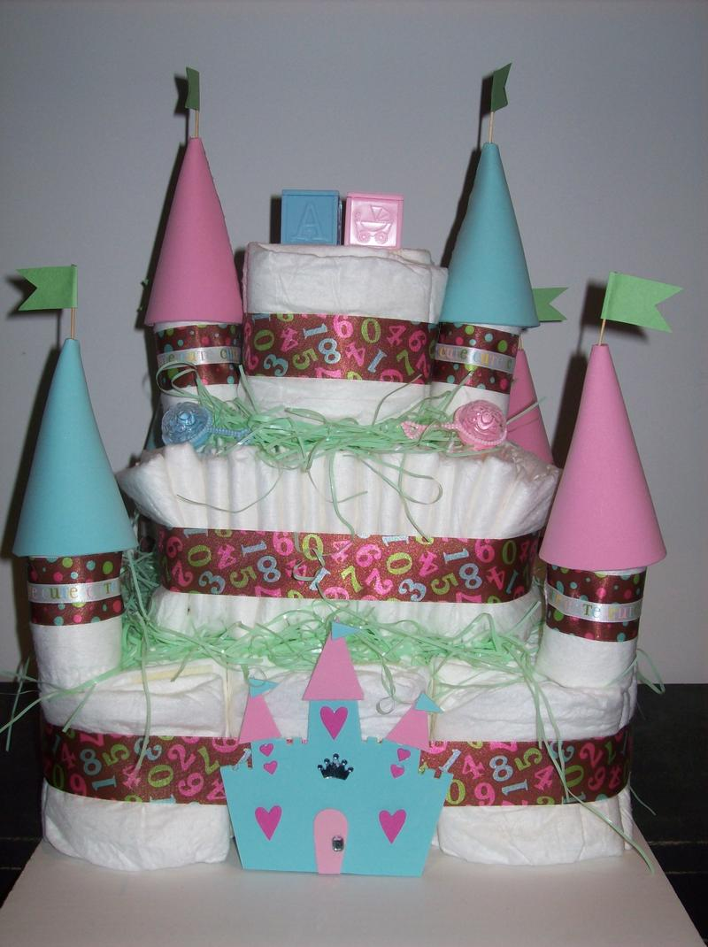 Baby Diaper Cake Ideas