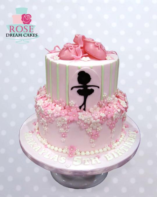 Ballerina Birthday Cake Idea