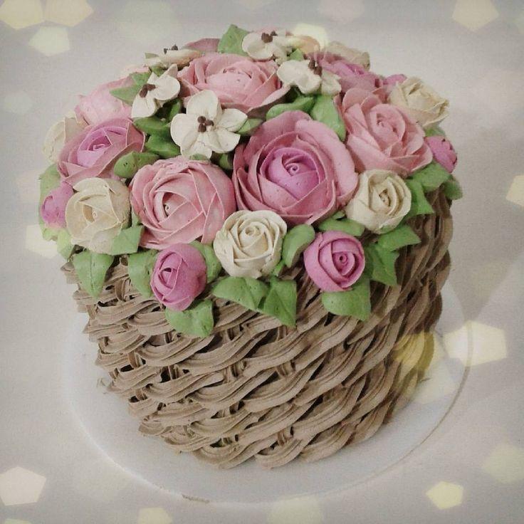Basketweave Cake Decorating