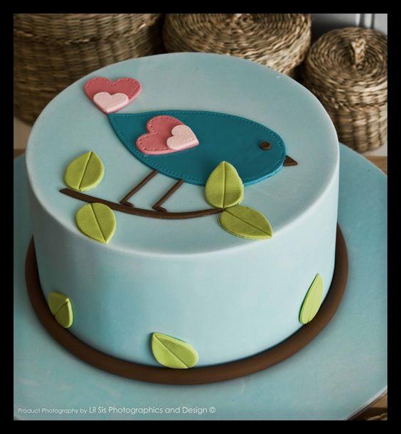 Beginners Fondant Birthday Cakes