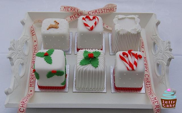 11 Photos of Individual Mini Cakes Christmas