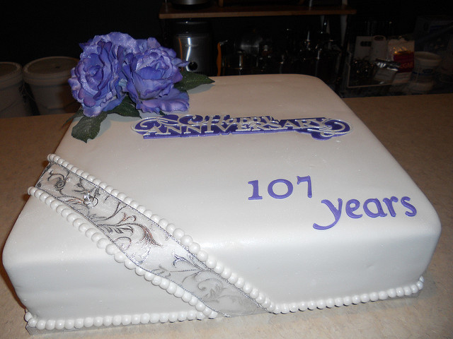 Church Anniversary Cake