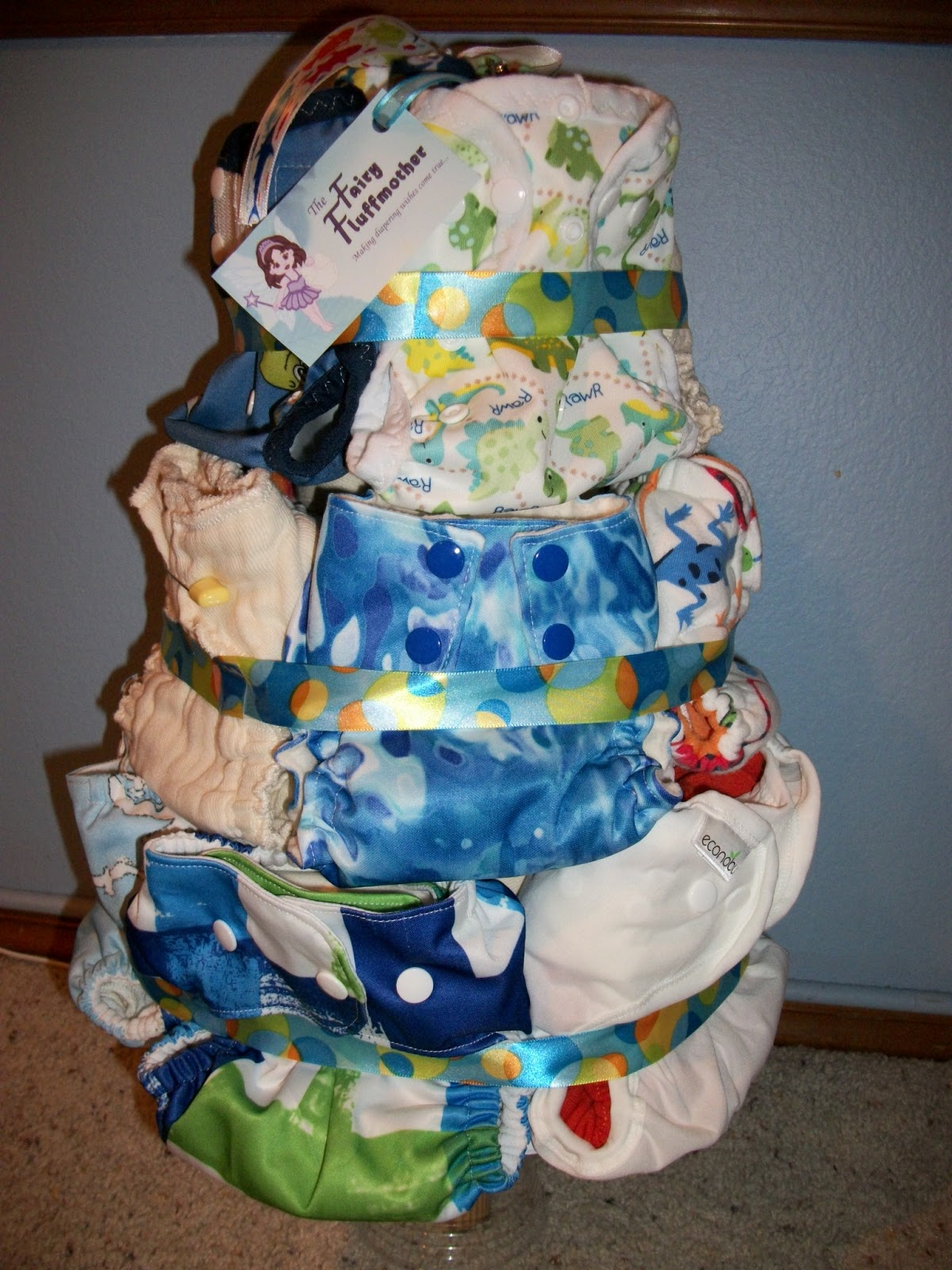 Cloth Diaper Cake
