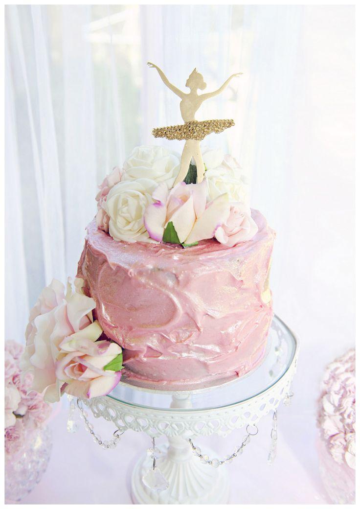 Dance Ballerina Birthday Cake