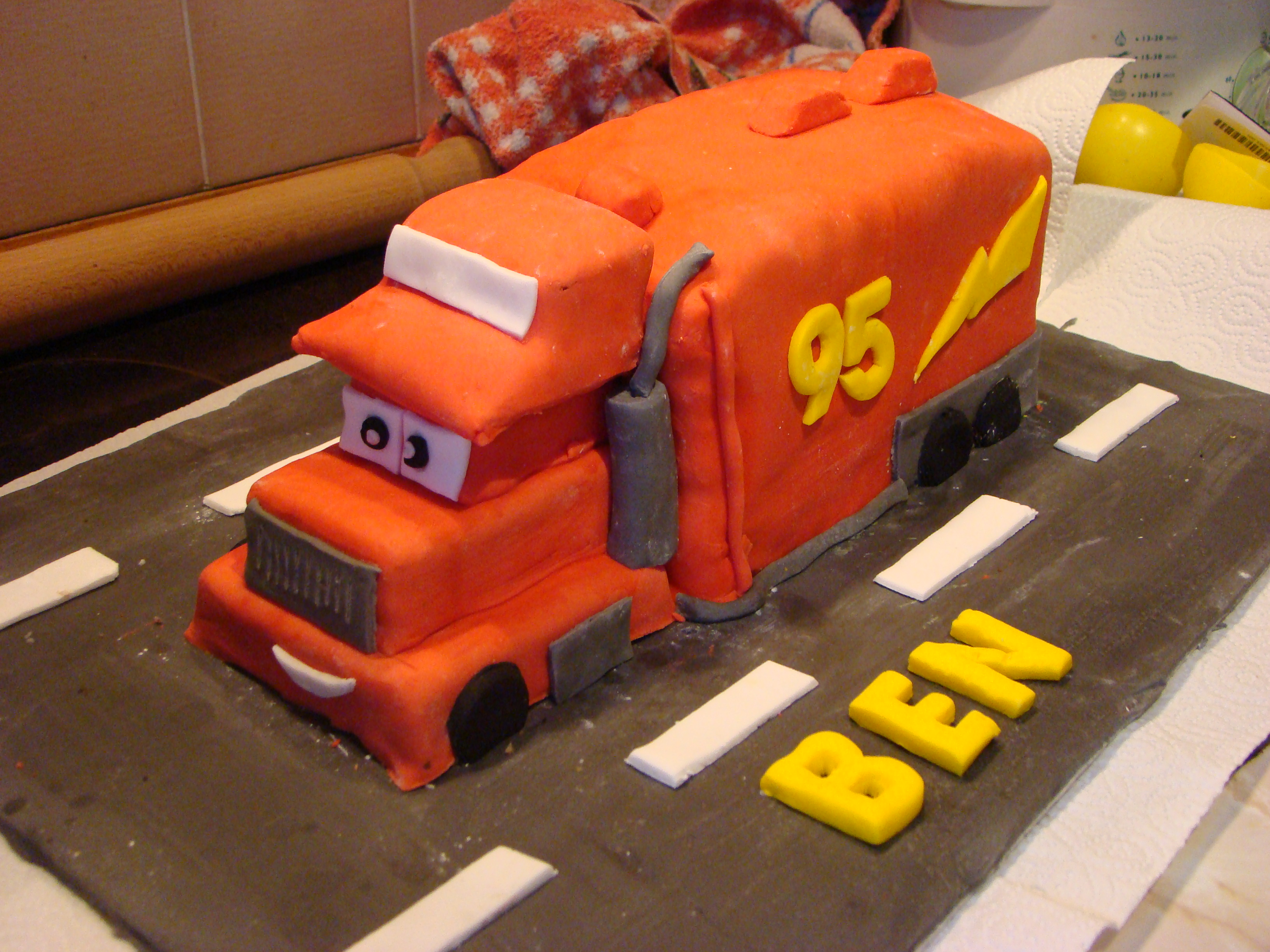 7 Photos of For Mac From Cars Cakes