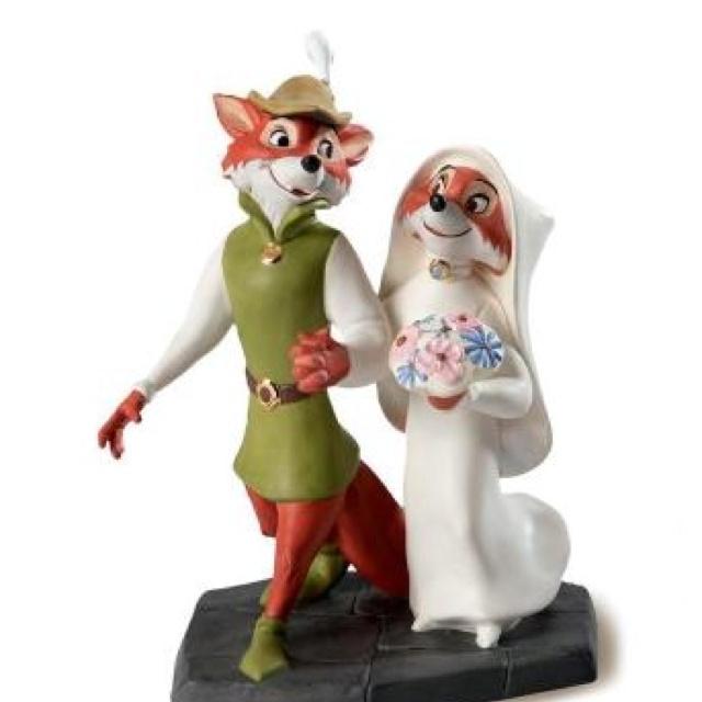 Disney Robin Hood and Maid Marian