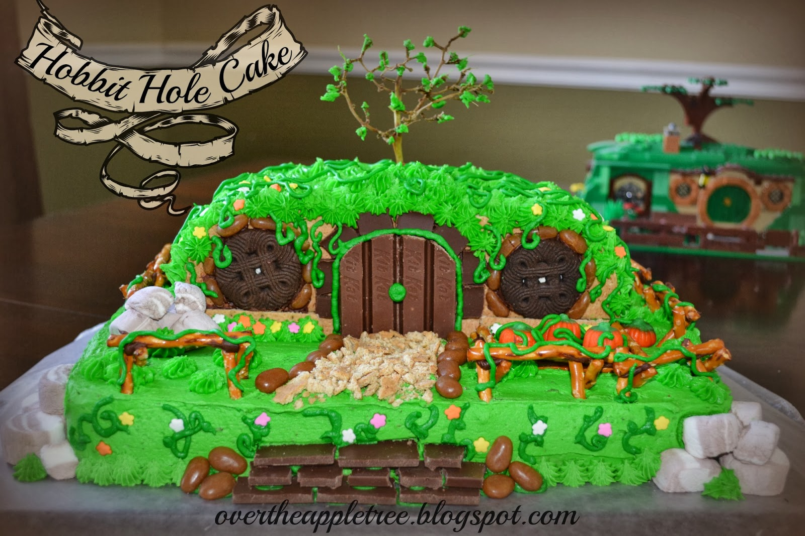 Remarkable 12 Simple Hobbit Cakes Photo Diy Hobbit Hole Birthday Cake Birthday Cards Printable Giouspongecafe Filternl