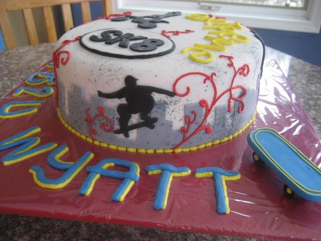 Extreme Sports Birthday Cake