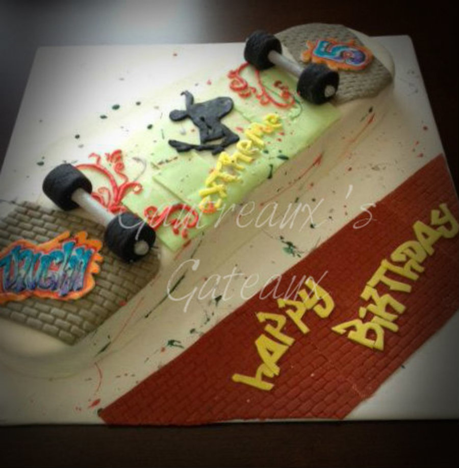 Extreme Sports Birthday Party