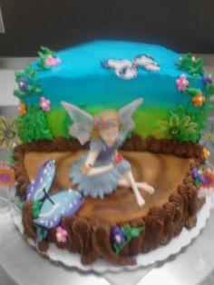 Fairy Birthday Cake 9