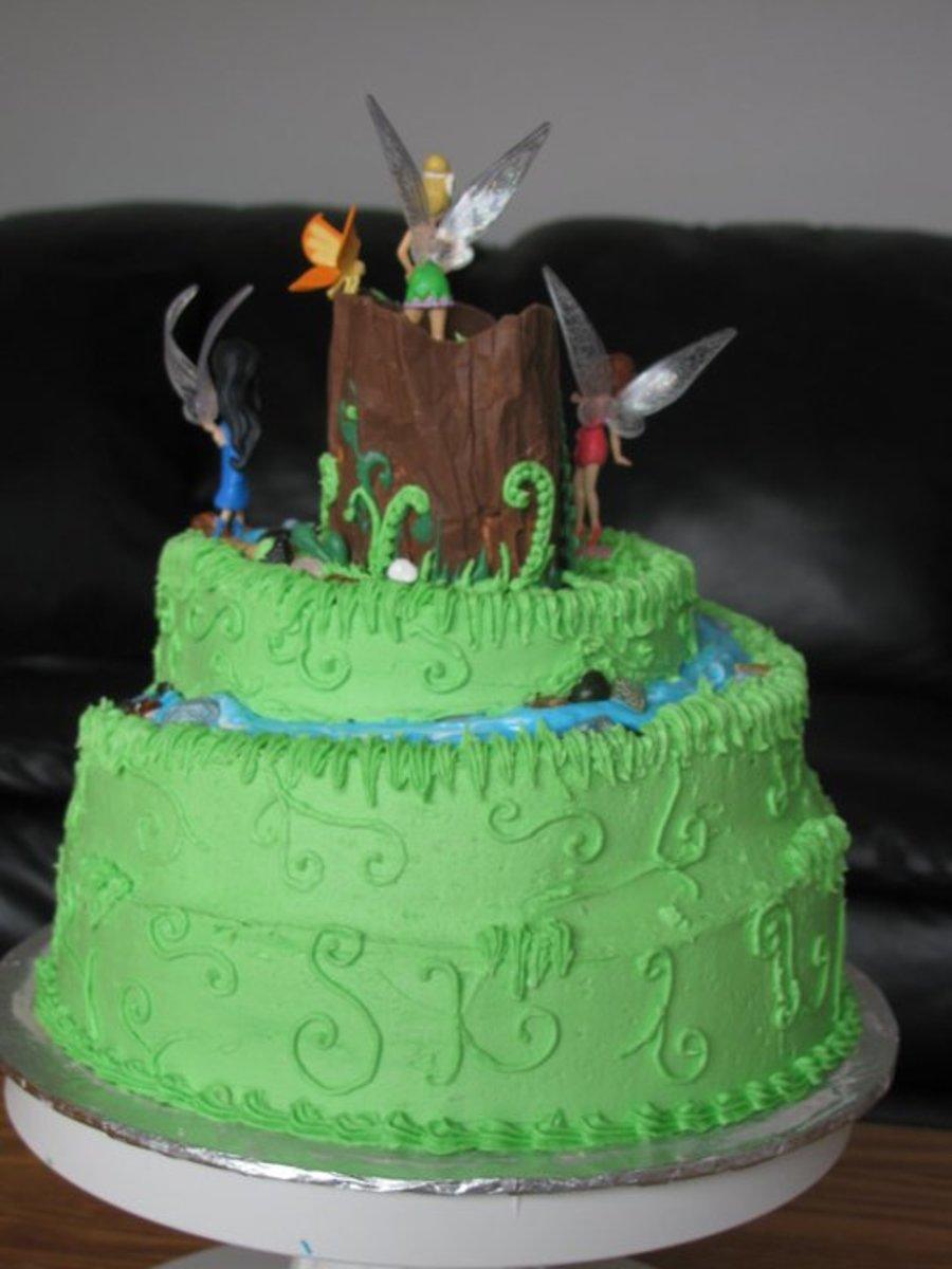 Fairy Theme Cake