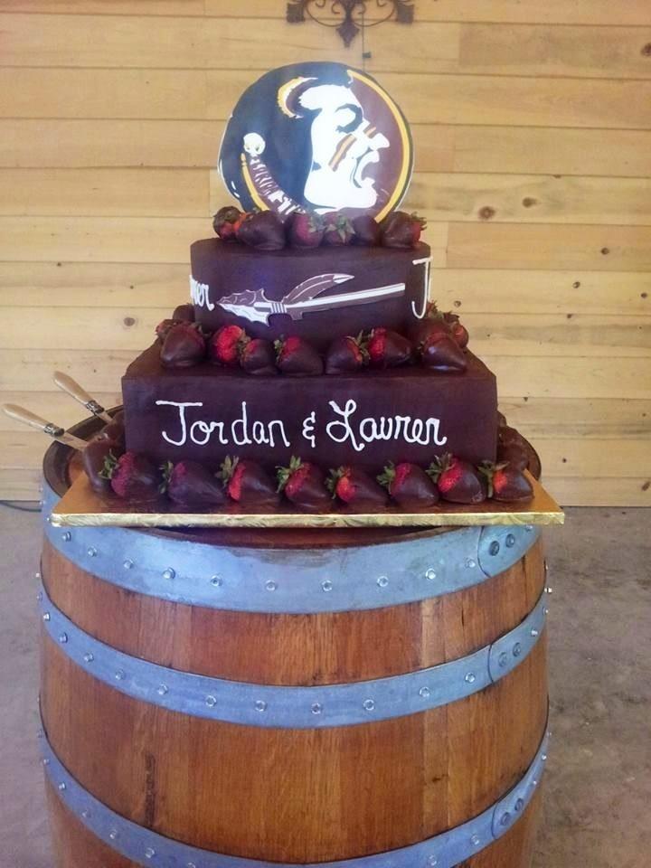 Florida State Grooms Cake