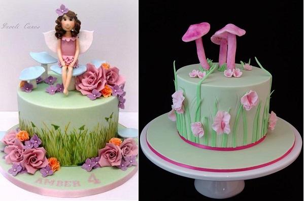 Flower Fairies Birthday Cake