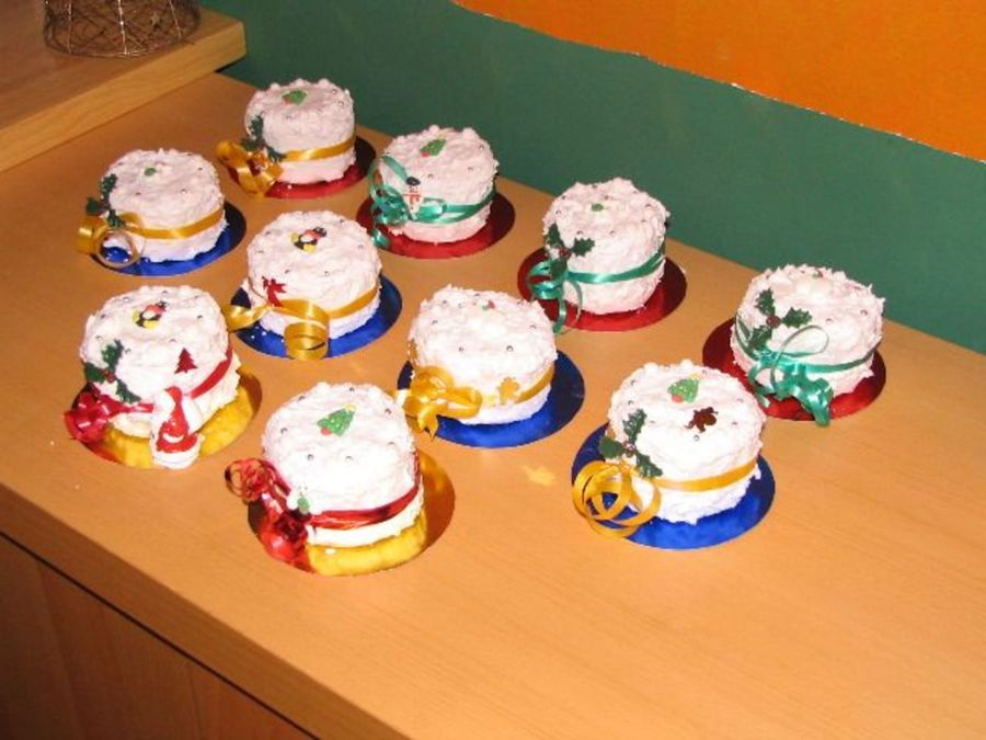Graduation Individual Mini Cakes