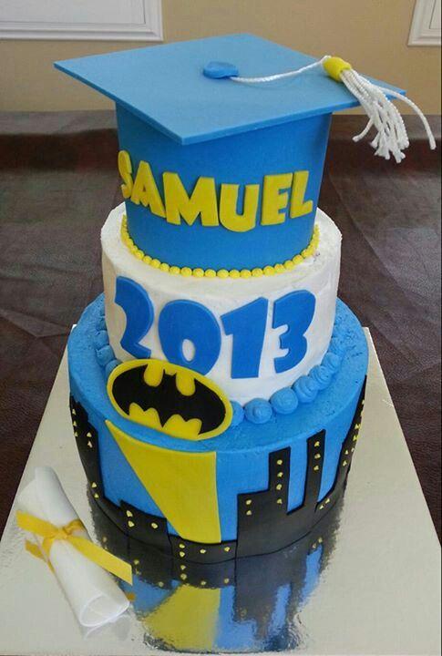 8 Photos of Batman High School Graduation Cakes