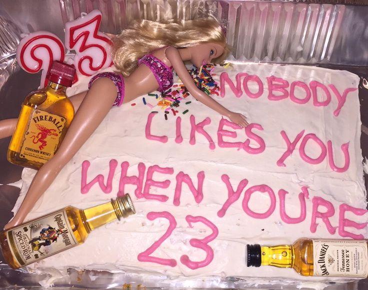 Happy 23 Birthday Cake Ideas