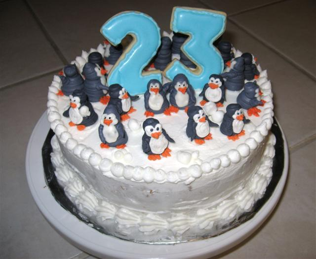 Happy 23 Birthday Cake