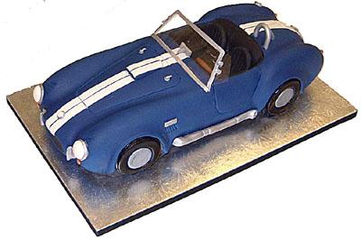 5 Photos of AC Cars Cakes