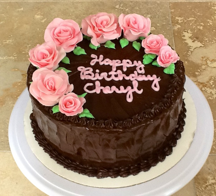 12 Gorgeous Chocolate Birthday Cakes Photo Beautiful Chocolate