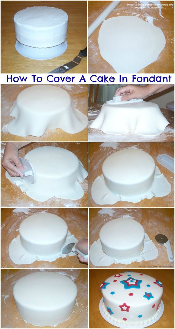 How to Beginner Cake Decorating with Fondant