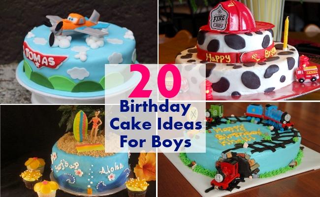 8 Creative Birthday Cakes For Boys Photo Boys 1st Birthday Cupcake