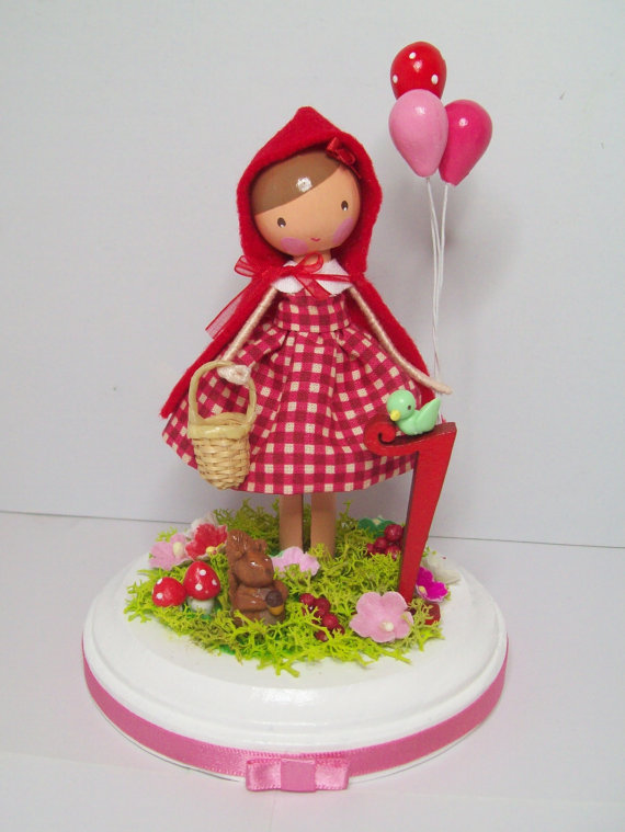 Little-Red-Riding-Hood-Cake-Topper