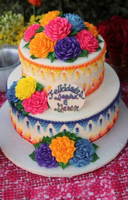 Mexican Fiesta Cake Ideas