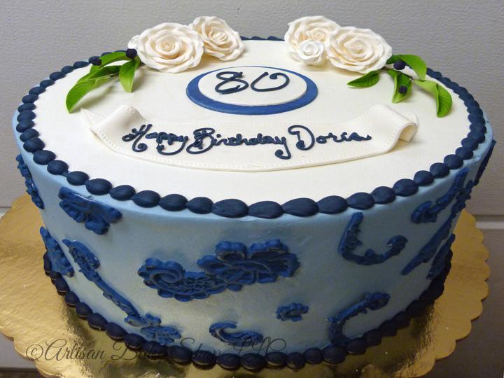 Strange 9 Blue Birthday Cakes For Grandma Photo 80Th Birthday Cake Funny Birthday Cards Online Kookostrdamsfinfo