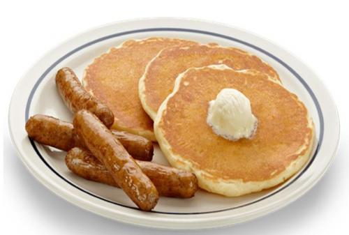 4 Photos of Pancakes Sausage And Egg Plate