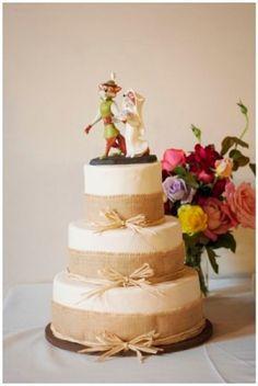 Robin Hood and Maid Marian Wedding Cake Topper