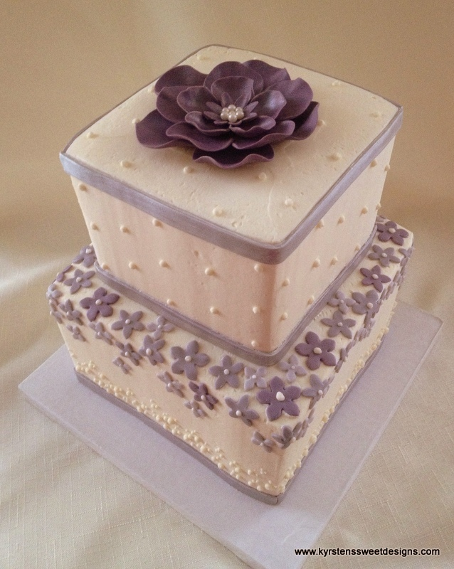 6 Photos of Small Square Cakes