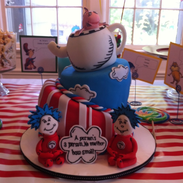 11 Thing 1 And 2 Baby Cakes Photo Thing 1 And Thing 2 Baby Shower