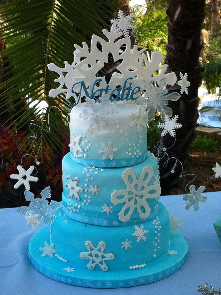 11 Photos of Winter Ball Themed Cakes