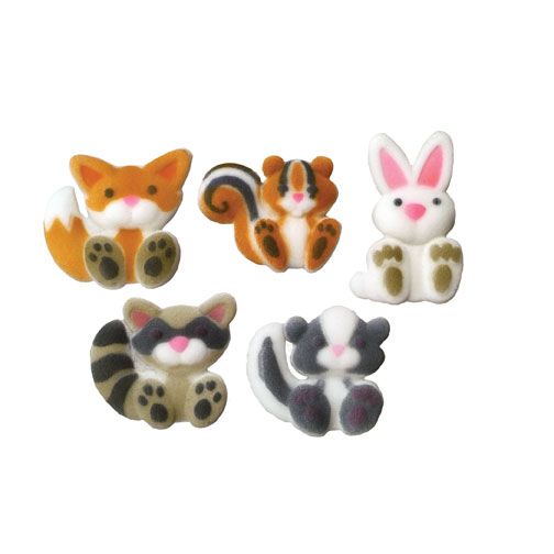 Woodland Animal Cake Decorations