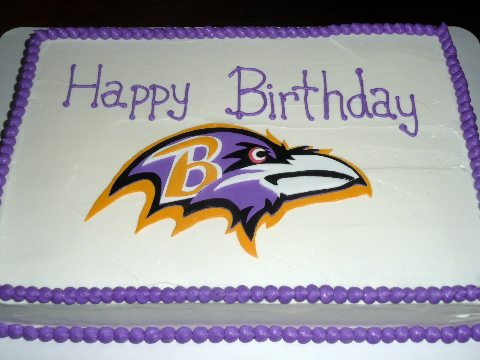 Strange 8 Baltimore Ravens Birthday Cakes For Men Photo Baltimore Ravens Birthday Cards Printable Opercafe Filternl
