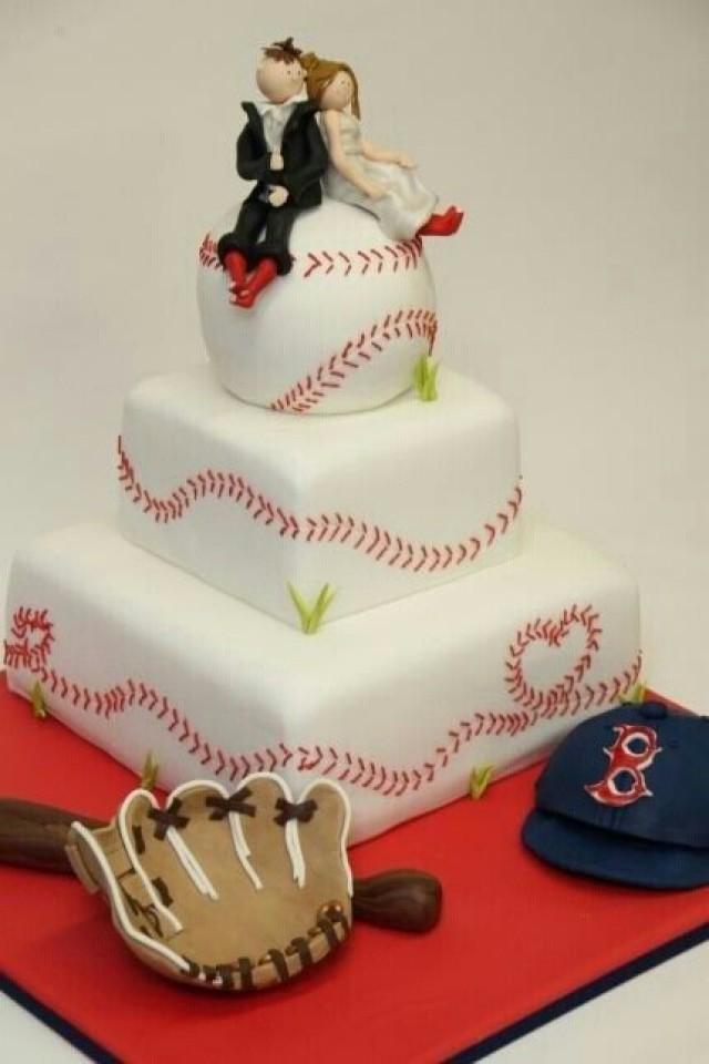 10 Photos of Rcakes Baseball Wedding