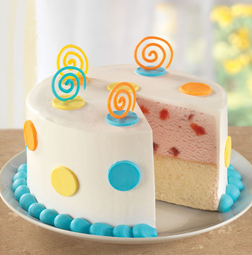 Baskin-Robbins Ice Cream Cake