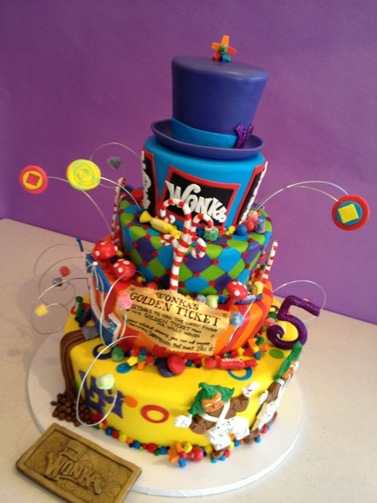 10 Photos of Willy Wonka And The Chocolate Factory Cakes