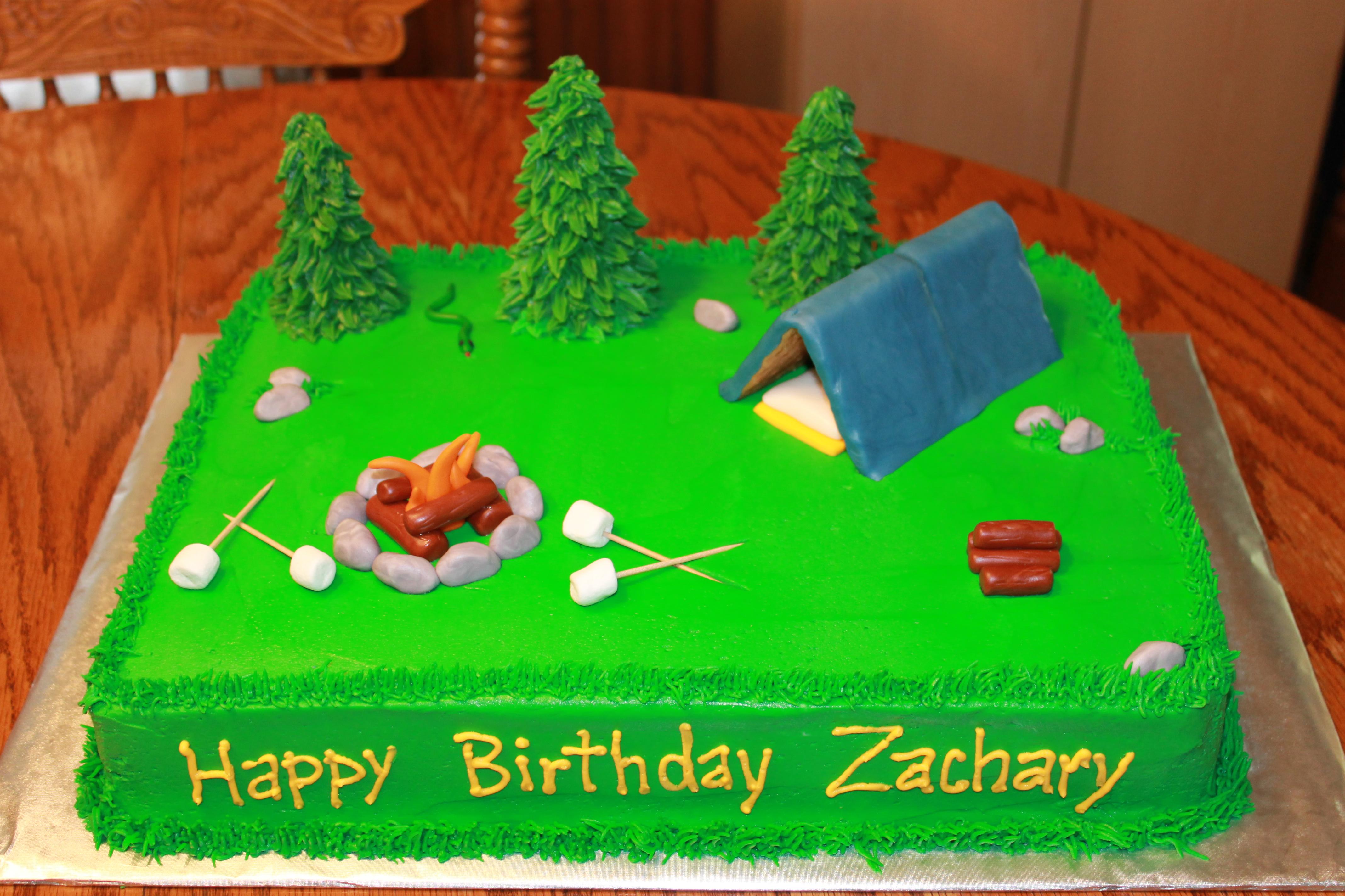 10 Photos of Camper Cakes Sheet