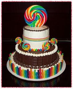 Nashville Predators Birthday Cake Via Candy Themed Ideas