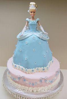 10 Photos of Easy Cinderella Cakes