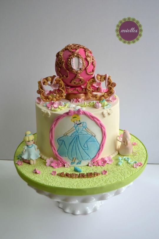 Cinderella Doll Birthday Cake