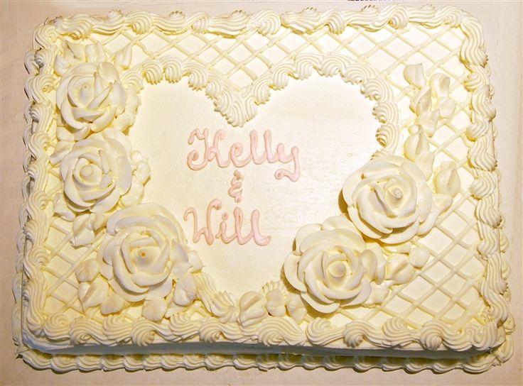 Costco Sheet Cake Wedding Design