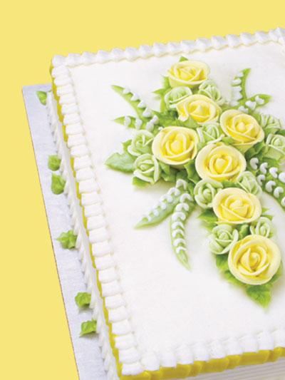 Cross Sheet Cake Decorating Ideas