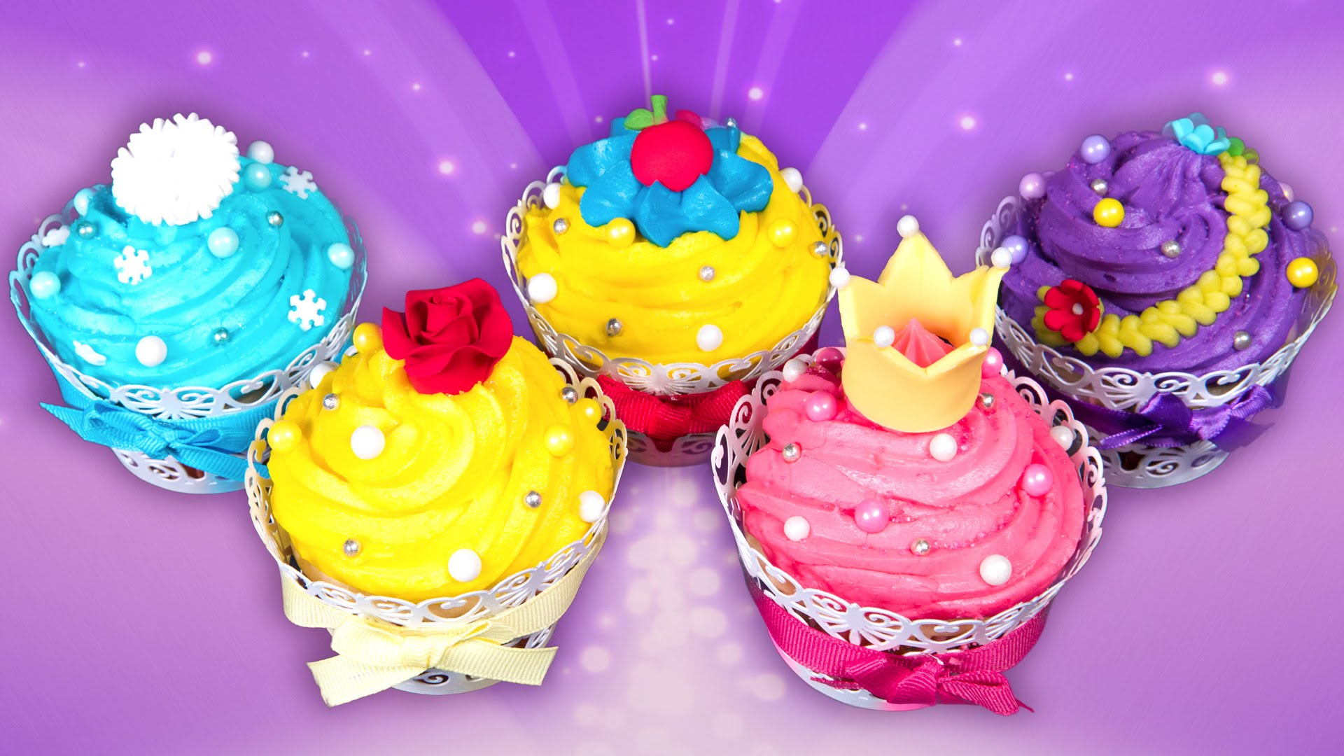 Disney Princess Cupcake Cake