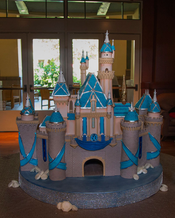 Disneyland Disney Castle Cake