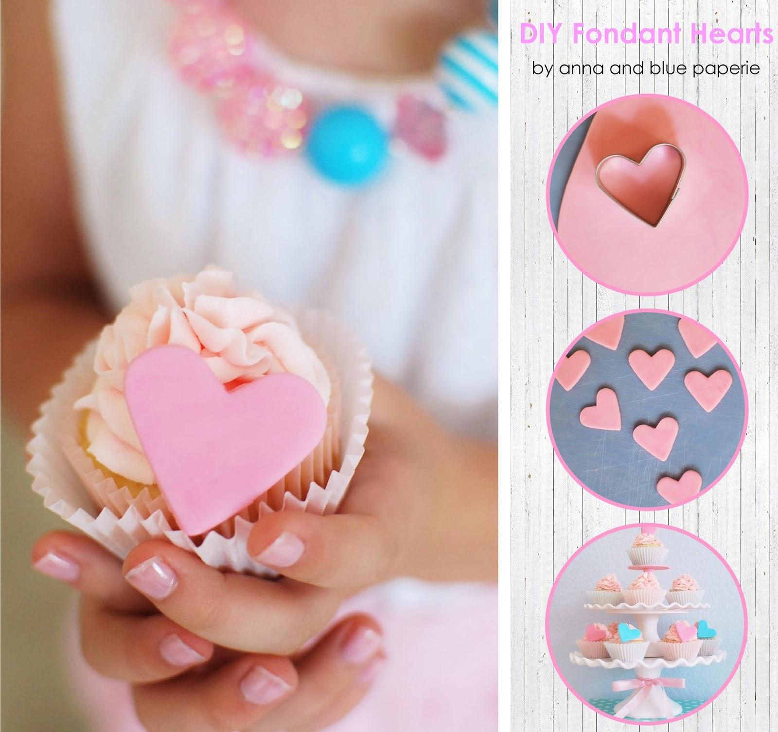 DIY Fondant Cupcake Toppers